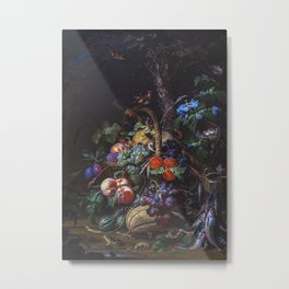 Still Life With Fruit Fis Metal Print