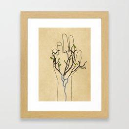 Handtree Framed Art Print