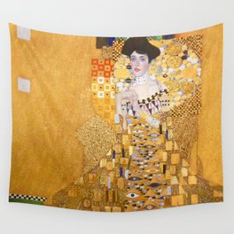 Gustav Klimt - The Woman in Gold Wall Tapestry