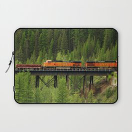 BNSF Going Over Goat Lick Creek Laptop Sleeve