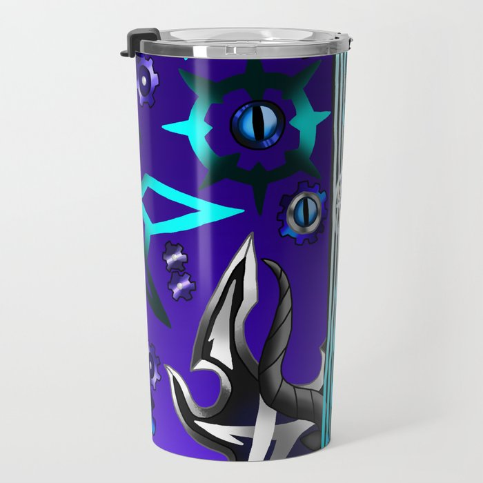 Fusion Keyblade Guitar #50 - Young Xehanort's Keyblade & Master Xehanort's Keyblade Travel Mug