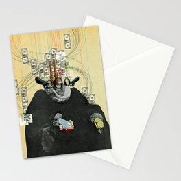 just thinking about myself... Stationery Cards