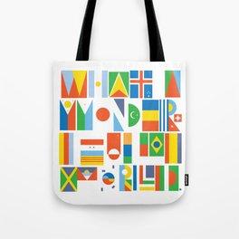 What A Wonderful World II Tote Bag