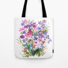 Lavender Mini Fleurs Tote Bag