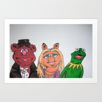 muppets Art Prints featuring Muppets. by jaytay