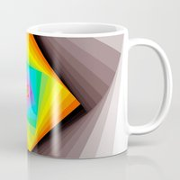 quilt Mugs featuring Digital Quilt by Take F1ve