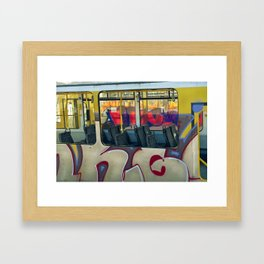 Departure with Ghosts Framed Art Print