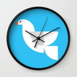 Geometric Dove Wall Clock