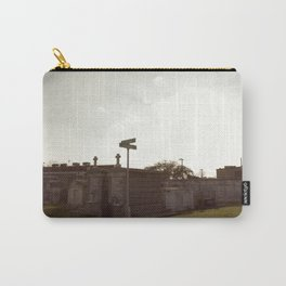 A Resting Place For Spirits Number 3 New Orleans 3 Cemetery Crossroads Carry-All Pouch