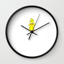 Locksmith's Chick Gift Wife Girlfriend product Wall Clock