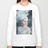 illusion Long Sleeve T-shirts featuring Illusion by Jovana Rikalo