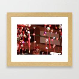 Tsusurushi-bina Framed Art Print