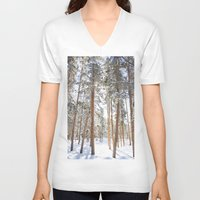 narnia V-neck T-shirts featuring Narnia by Alyson Cornman Photography