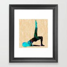 Fitness Framed Art Print