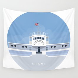 Beach Patrol Wall Tapestry