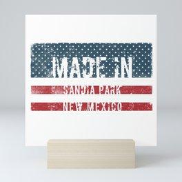 Made in Sandia Park, New Mexico Mini Art Print