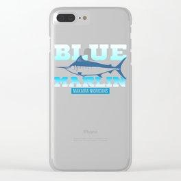 Atlantic Blue Marlin Makaira Nigricans Clear iPhone Case