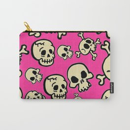 Skull Mania Carry-All Pouch