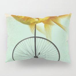 unicycle goldfish Pillow Sham