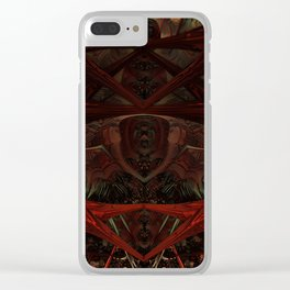 Xeno Blood Red Clear iPhone Case