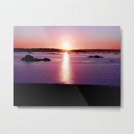 Galician Sunset Metal Print