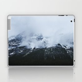 Mountains and Fog | Jasper Skywalk | By Magda Opoka Laptop & iPad Skin