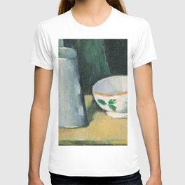 1877 - Paul Cezanne - Bowl and Milk-Jug T-shirt