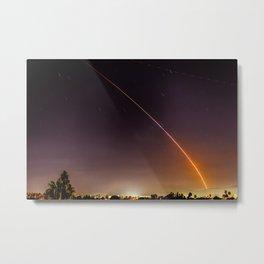 Atlas V Through the Sky Metal Print