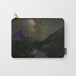 Galaxy Mountain (Color) Carry-All Pouch
