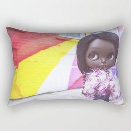 ERREGIRO CUSTOM BLYTHE DOLL LONDON Rectangular Pillow