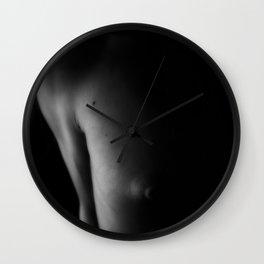 The Half In Photo Wall Clock