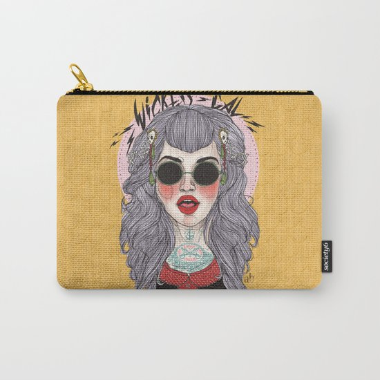 wicked gal Carry-All Pouch