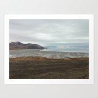 Antelope Island Art Print