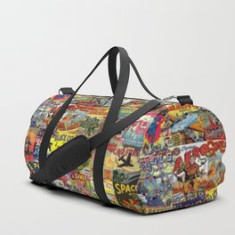 Comic Book Collage II Duffle Bag
