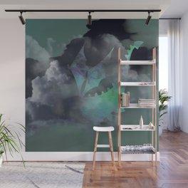 Dragon Cloud Dive Wall Mural