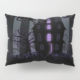 Be it ever so Haunted, there's no place like Home - Dark Gray Pillow Sham