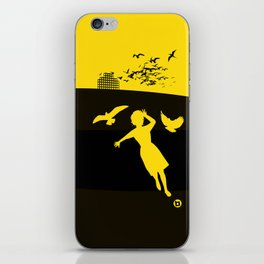 Alfred Hitchcock's The Birds iPhone Skin