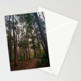 Walking Through the Tall Trees Stationery Cards