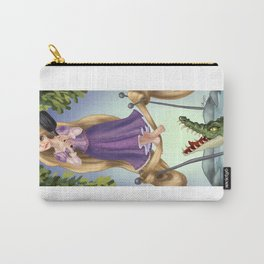 A Tangled Mansion Carry-All Pouch