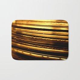 Gold CD's Bath Mat