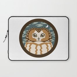 Northern Saw-whet Owl Laptop Sleeve