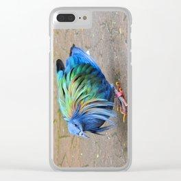 Nicobar Pigeon Strut Clear iPhone Case