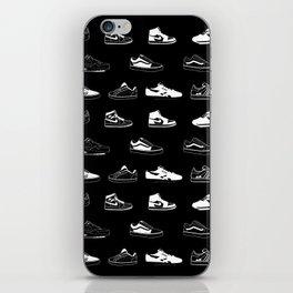 Black Sneaker iPhone Skin