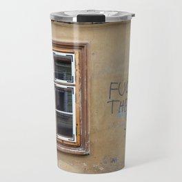 F THE SYSTEM Travel Mug