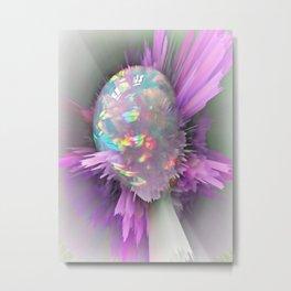 OPAL - Flowerhead Metal Print