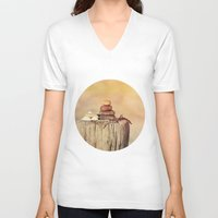balance V-neck T-shirts featuring Balance    by LebensART Photography