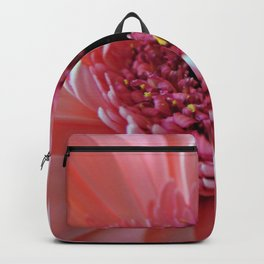 Pink Germini Close up Backpack