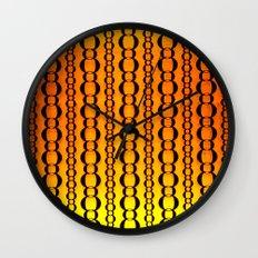 Gold and Chains - Vivido Series  Wall Clock
