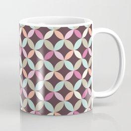 Fun Colorful Geometric Pattern Coffee Mug
