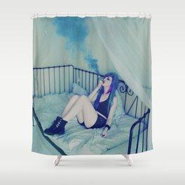 Smoking dreams  Shower Curtain